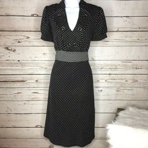 Torrid Polka dot knit dress size 12